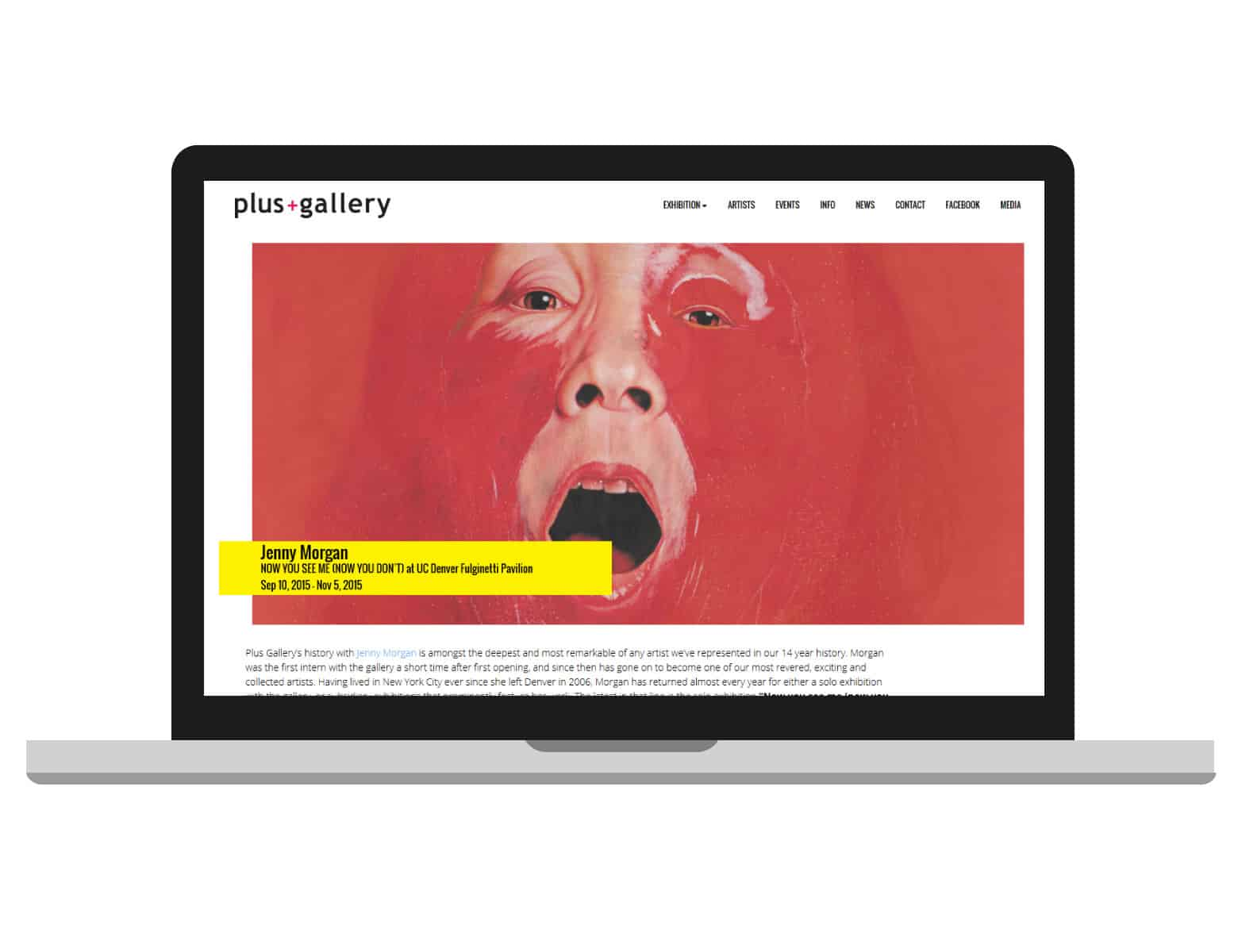 Plus Denver Contemporary Art Gallery in Denver Website