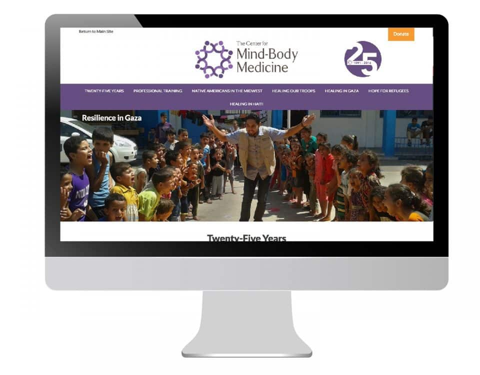 The Center for Mind-Body Medicine micro-site